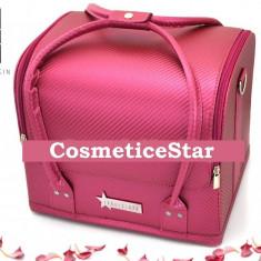 Geanta depozitare Fraulein38 Beauty Case Nuanta Pink - Geanta cosmetice