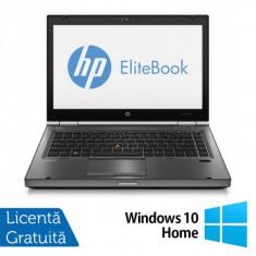 Laptop HP EliteBook 8470P, Intel Core i5-3230M 2.60GHz, 4GB DDR3, 320GB SATA, DVD-RW + Windows 10 Home