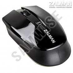 **NOU**Mouse optic Zalman Wireless ZM-M520W, 1600 DPI, Black...GARANTIE 12 luni!