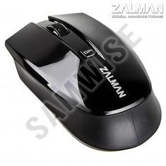 **NOU**Mouse optic Zalman Wireless ZM-M520W, 1600 DPI, Black...GARANTIE 12 luni!