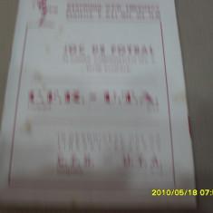 program    CFR Timisoara  -  UTA