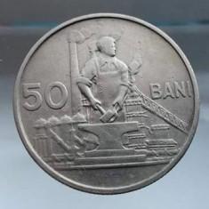 Moneda 50 bani 1955 Romania RPR monede romanesti numismatica - Moneda Romania