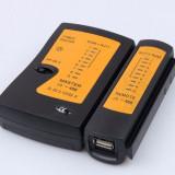Tester cablu UTP RJ45 + RJ11