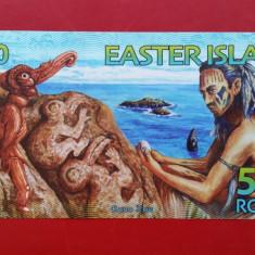 BANCNOTA INSULA PASTELUI ( Easter Island ) - 500 rongo 2012 - A28627 - UNC