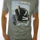 Tricou barbat - tricou slim fit tricou gri tricou dolce gabbana - cod 151