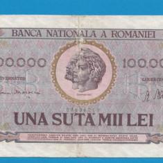 100000 lei 1947 9 - Bancnota romaneasca