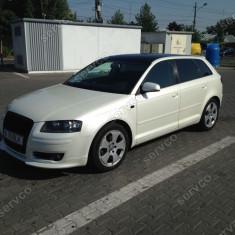 Prelungire spoiler bara fata Audi A3 8P Sportback Coupe S3 S line RS3 ve1