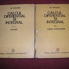 Calcul integral si diferential - Gh.Siretchi (2vol.)