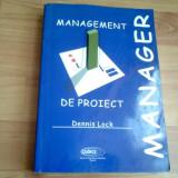 MANAGEMENT DE PROIECT-DENNIS LOCK