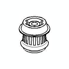 Suport, transmisie manuala AUDI 500 1.9 - TOPRAN 108 629 - Tampon cutie viteze