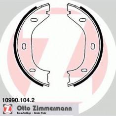 Set saboti frana, frana de mana BMW 6 628 CSi - ZIMMERMANN 10990.104.2