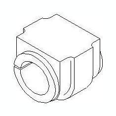 Bucsa, bara stabilizatoare MINI MINI One D - TOPRAN 501 791