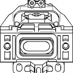 Suport motor SEAT LEON 1.4 16V - TOPRAN 107 979 - Suporti moto auto