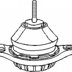 Suport motor AUDI 90 1.9 TDI - TOPRAN 104 399 - Suporti moto auto