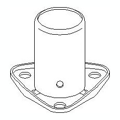 Rulment priza directa, ambreiaj VW CARAT 1.6 - TOPRAN 100 058 - Ghidaj rulment presiune