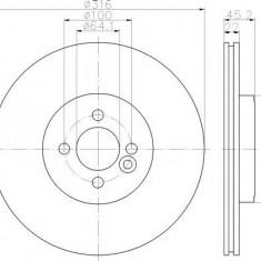 Disc frana MINI MINI cupe John Cooper Works - MINTEX MDC2523 - Discuri frana