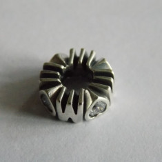 Talisman Pandora din argint -spacer Mandria mamei cu zirconiu-791520cz - Pandantiv argint