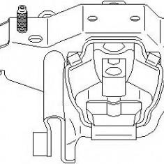 Suport, transmisie manuala VW POLO 1.6 BiFuel - TOPRAN 110 320 - Tampon cutie viteze