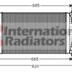 Intercooler, compresor CITROËN XANTIA 1.9 Turbo D - VAN WEZEL 09004050 - Intercooler turbo