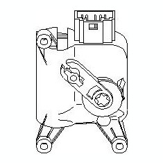 Element de reglare, clapeta carburator SEAT TOLEDO Mk II 2.3 V5 - TOPRAN 111 097 - Control Aer Conditionat