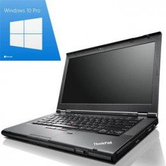 Laptop Refurbished ThinkPad T430s i7 3520M SSD Win 10 Pro