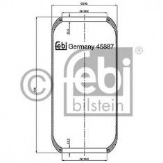 Burduf, suspensie pneumatica - FEBI BILSTEIN 45887