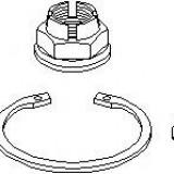 Set rulment roata DACIA LOGAN 1.4 MPI LPG - TOPRAN 700 546
