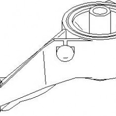 Suport motor OPEL MERIVA 1.7 CDTI - TOPRAN 207 681 - Suporti moto auto