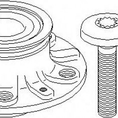 Set rulment roata - TOPRAN 110 532 - Rulmenti auto