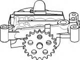 Pompa ulei CITROËN AX 14 D - TOPRAN 720 157