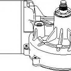 Motor stergator MERCEDES-BENZ CL-CLASS cupe S 500 - TOPRAN 401 530 - Motoras stergator