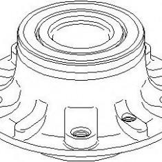 Set rulment roata - TOPRAN 500 632 - Rulmenti auto