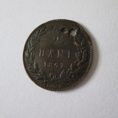 2 Bani 1867 - Moneda Romania