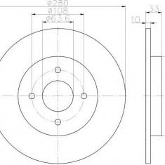 Disc frana FORD FOCUS ST170 - TEXTAR 92172403 - Discuri frana
