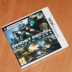 Joc Nintendo 3DS - Tom Clancy's Ghost Recon Shadow Wars, sigilat - Jocuri Nintendo 3DS, Actiune, 12+