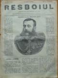 Ziarul Resboiul , nr. 73 , 1877 , gravura ; Generalul rus Scobeleff