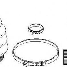 Ansamblu burduf, articulatie planetara AUDI A3 1.8 - TOPRAN 109 944 - Burduf auto