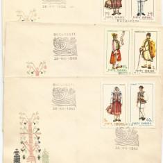 (No4) FDC ROMANIA -1968-L.P.690- Costume nationale I