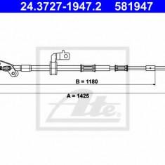 Cablu, frana de parcare TOYOTA RAV 4 Mk II 1.8 VVTi - ATE 24.3727-1947.2
