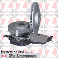 Set frana, frana disc OPEL VECTRA B hatchback 1.6 i 16V - ZIMMERMANN 640.4212.00 - Kit frane auto
