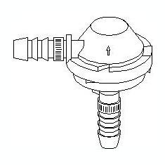 Supapa control, admisie aer AUDI A4 limuzina 1.6 - TOPRAN 112 282 - Reglare Compresor