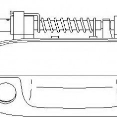 Maner usa PEUGEOT 406 limuzina 1.6 - TOPRAN 722 386