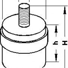 Suport, carcasa filtru aer MERCEDES-BENZ CABRIOLET 300 CE-24 - TOPRAN 400 107