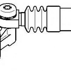 Intinzator curea, curea distributie AUDI A5 2.7 TDI - TOPRAN 112 964 - Intinzator Curea Distributie