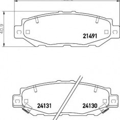 Placute frana LEXUS GS limuzina 300 - MINTEX MDB1710 - Ventilatoare auto
