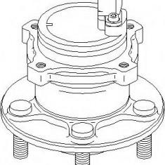 Butuc roata FORD C-MAX 1.8 - TOPRAN 304 094