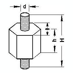 Suport, carcasa filtru aer MERCEDES-BENZ limuzina 230 - TOPRAN 400 434