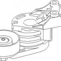 Intinzator curea, curea distributie AUDI A2 1.4 TDI - TOPRAN 109 805 - Intinzator Curea Distributie
