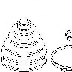 Set articulatie, planetara SEAT IBIZA Mk II 1.8 i - TOPRAN 103 506