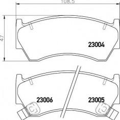 Placute frana NISSAN PULSAR I hatchback 1.4 S, GX, LX - MINTEX MDB1760 - Ventilatoare auto